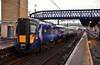 385029 stabled at Stirling. Sun 09.02.20