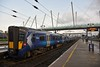 385005 stabled at Stirling. Sun 09.02.20