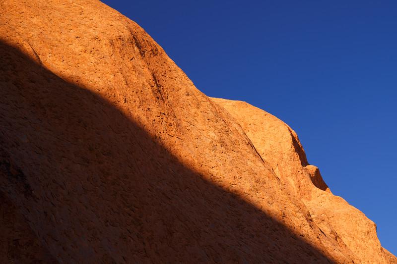 Northern Territory, Uluru - Shades of light and dark