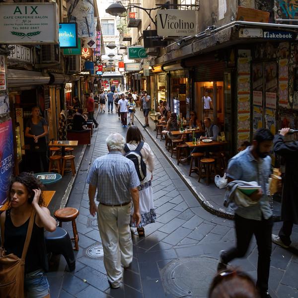 Victoria, Melbourne - Street Life