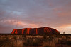 Northern Territory, Uluru - Sunrise with side light
