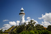 New South Wales, Byron Bay - Lighthouse at top of hill
