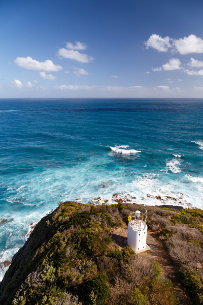 Victoria, Great Ocean Road - Actual lighthouse at Cape Otway Light