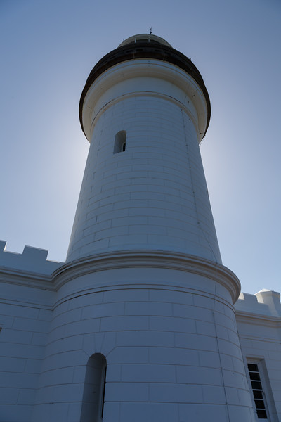 New South Wales, Byron Bay - Looking up at lighthouse