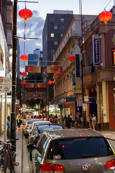 Victoria, Melbourne - China town