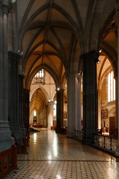Victoria, Melbourne - Corridor at cathedral