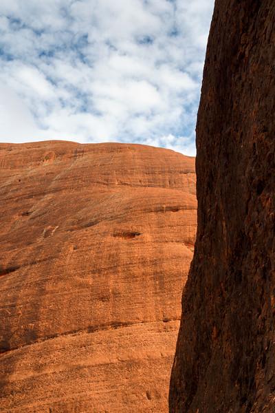 Northern Territory, Kata Tjuta - Shades of light and dark