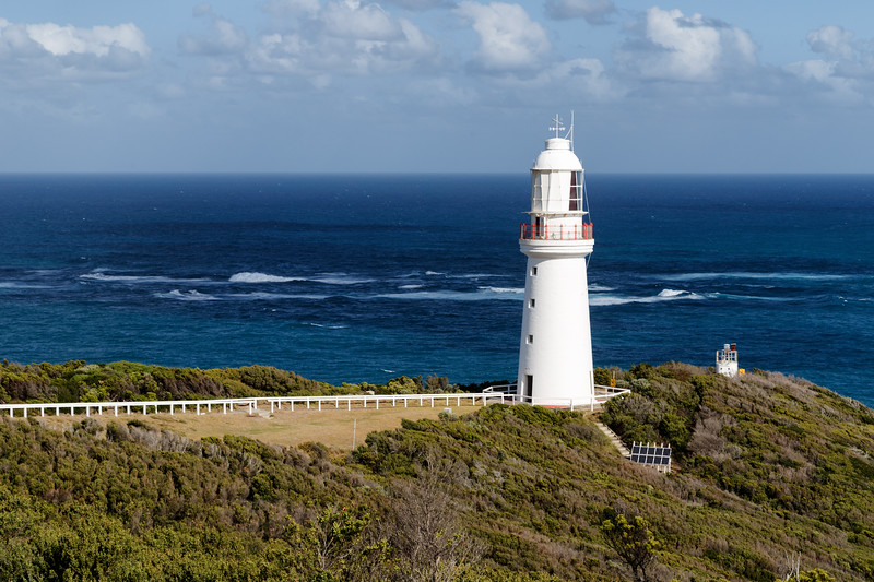 Victoria, Great Ocean Road - View of Cape Otway Lighthouse