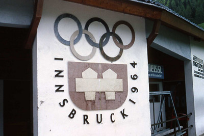 Olympic sign from 1964 Winter Olympics