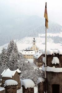 Kirche, Kufstein, Austria, distant view