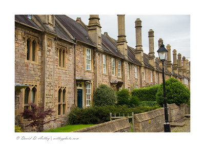 Vicars' Close, Wells Cathedral, Wells, England