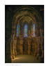 The Chancel of the Royal Chapel, Conwy Castle, Conwy, Wales
