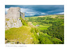Carreg Cennen Castle, Brecon Beacons National Park, Wales