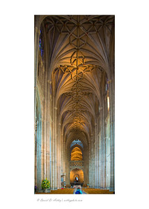 Interior, Canterbury Cathedral, Canterbury, England