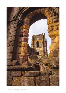 Fountains Abbey Ruins, Yorkshire, England
