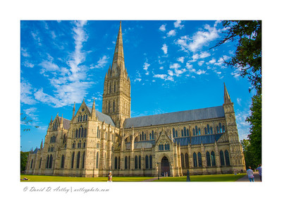 Tallest Church Spire in the United Kingdom,  Salisbury Cathedral, Wiltshire, England