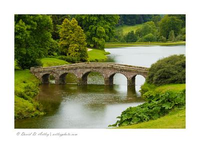 Stone Bridge, Stourhead Gardens, Wiltshire, England