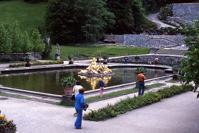 Schloss Linderhof, Ettal, Germany (near Oberammergau)