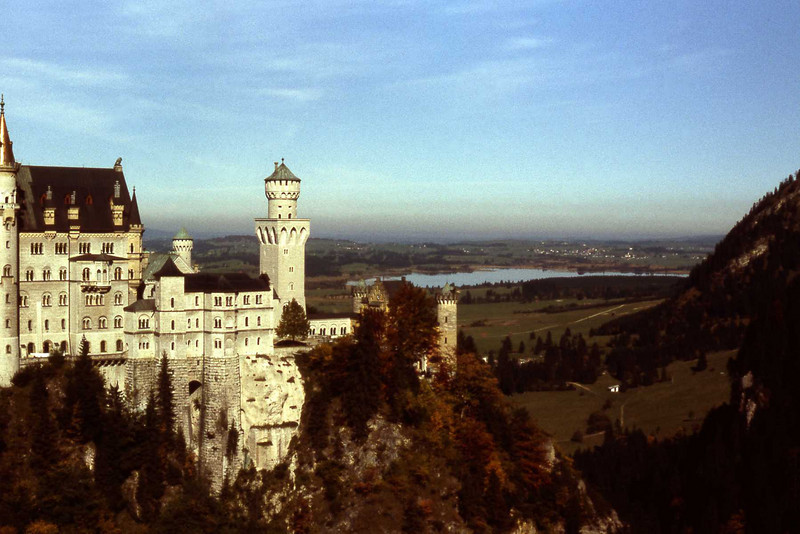 Schloss Neuschwanstein, Schwangau, Germany
