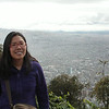 Overlooking Bogota from Monserrate