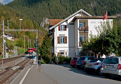 October 2014,  Filisur.  Hard to beat the station hotel: reasonable rates,  nice rooms, excellent food.