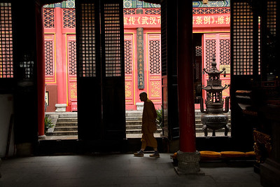 Guiyuan Temple Monk 2451