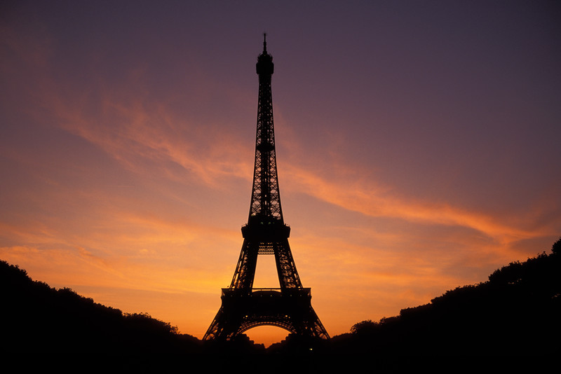 Eiffel Sunset PAR1C