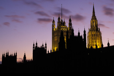 Westminister at Dusk UK4C