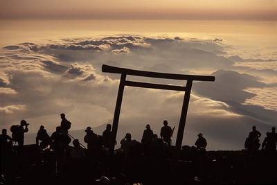 Top of Mt Fuji JPN1B