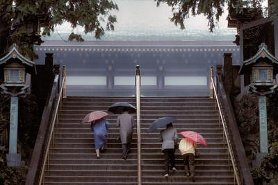 Stairway in Rain JPN6D