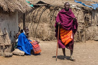 Masai Village People 4236