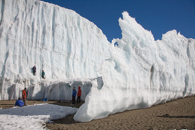 Exploring Furtwangler Glacier 4055