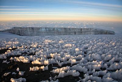 Penitentes, Glacier, Clouds 4083