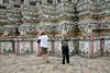 Wat Arun Tourists 2387