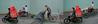 Moto Cyclo Triptych