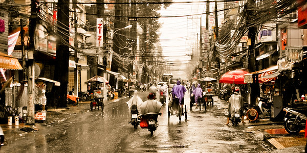 Ho Chi Minh City Rain 3335csp