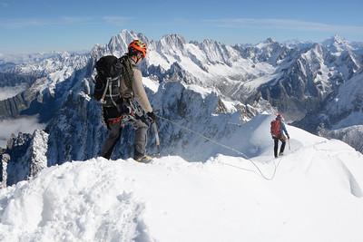 Starting Down ( French Alps )-- Chamonix