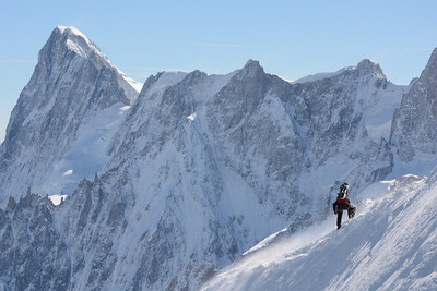 Almost There (French Alps)-- Chamonix