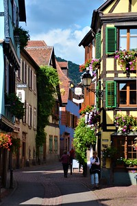 Walking Riquewihr