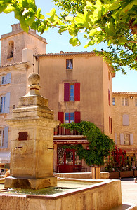 Village Center--Gordes