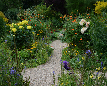 Monet Garden Path #1--Giverny