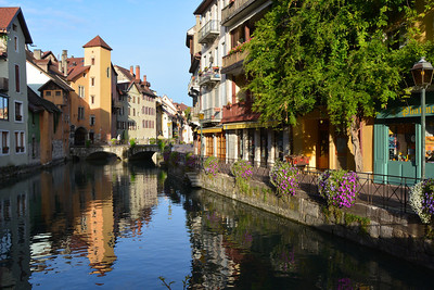 Early Morning along the Thiou--Annecy
