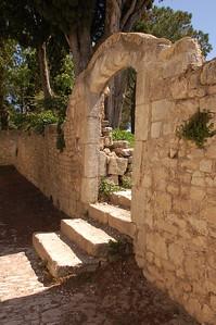 Sunny Steps of Garden Gate