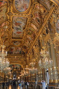 Grand Hall--Paris Opera House