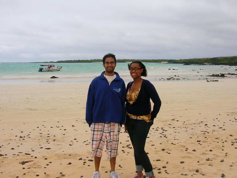 Alvin Hillary and Deja Latrese Mullings, two students enrolled in CSI's Teacher Education Honors Academy (TEHA), spent one month this summer student teaching at La Escuela Tomas de Berlanga, a K-12 school situated in the highlands of Santa Cruz, one of the many islands that make up the Galapagos archipelago.