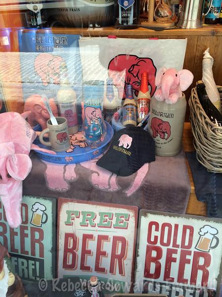 Pink elephants!