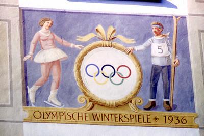 Garmisch-Partenkirchen Olympic Mural