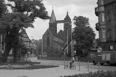 Esslingen Church I - (Stadtkirche St. Dionys)