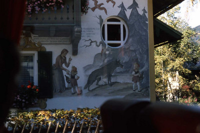 Red Riding Hood House - Oberammergau