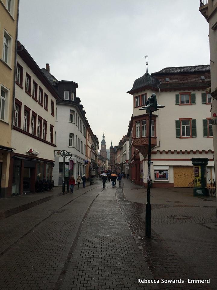 A rainy May Day in Heidelberg